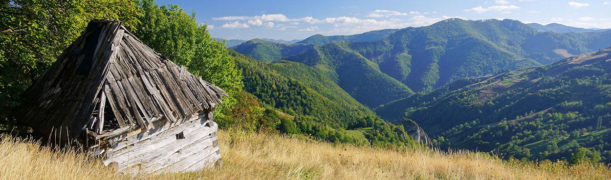 Góry Muntele Mare - Rumunia