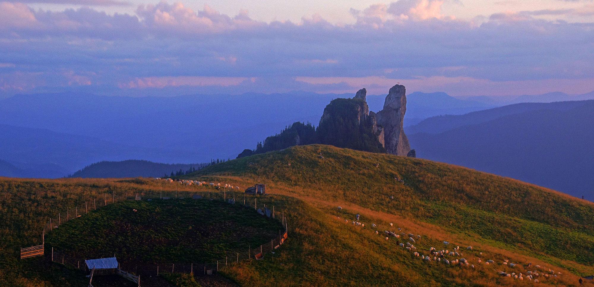 Karpaty Rumuńskie: Góry Rarău – Giumalău