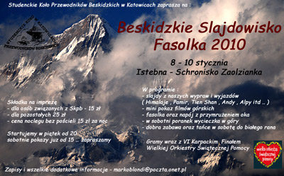 Beskidzkie Slajdowisko FASOLKA 2010