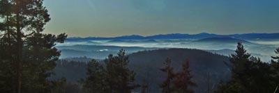 Inwersja w górach – wspaniałe widoki z połonin