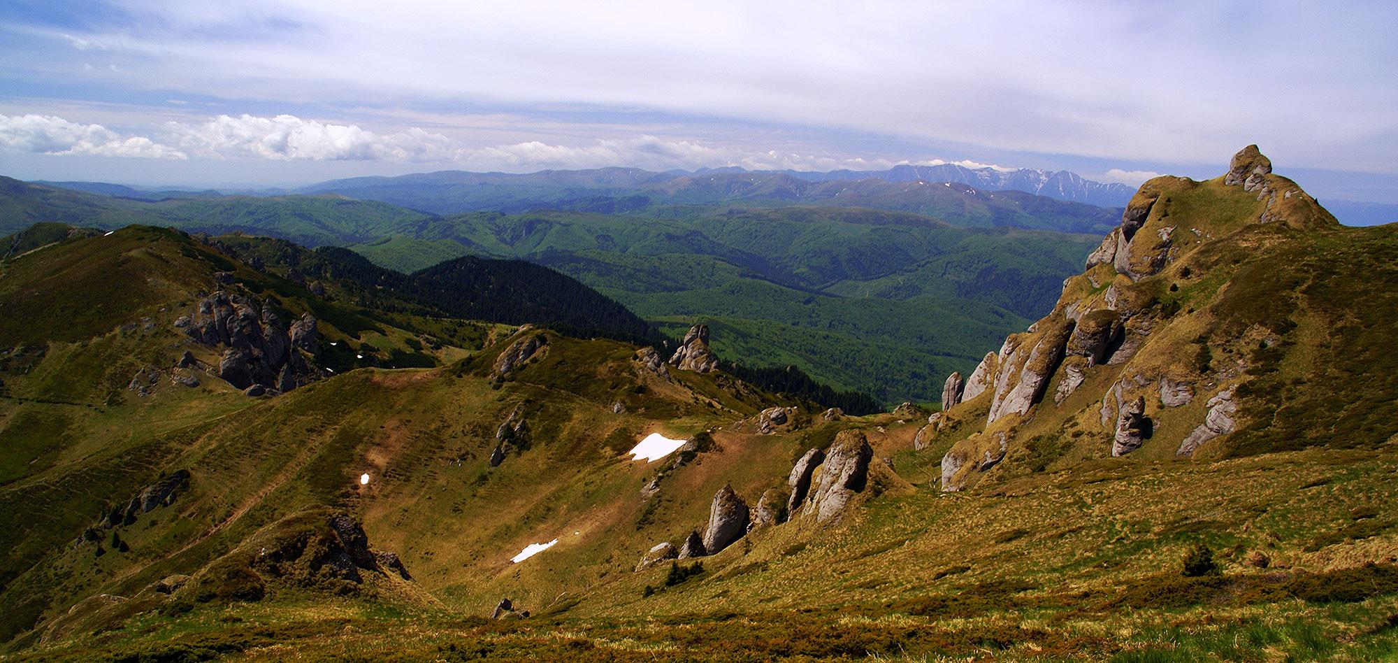 Góry Întorsurii z pasmem Gór Cziukasz