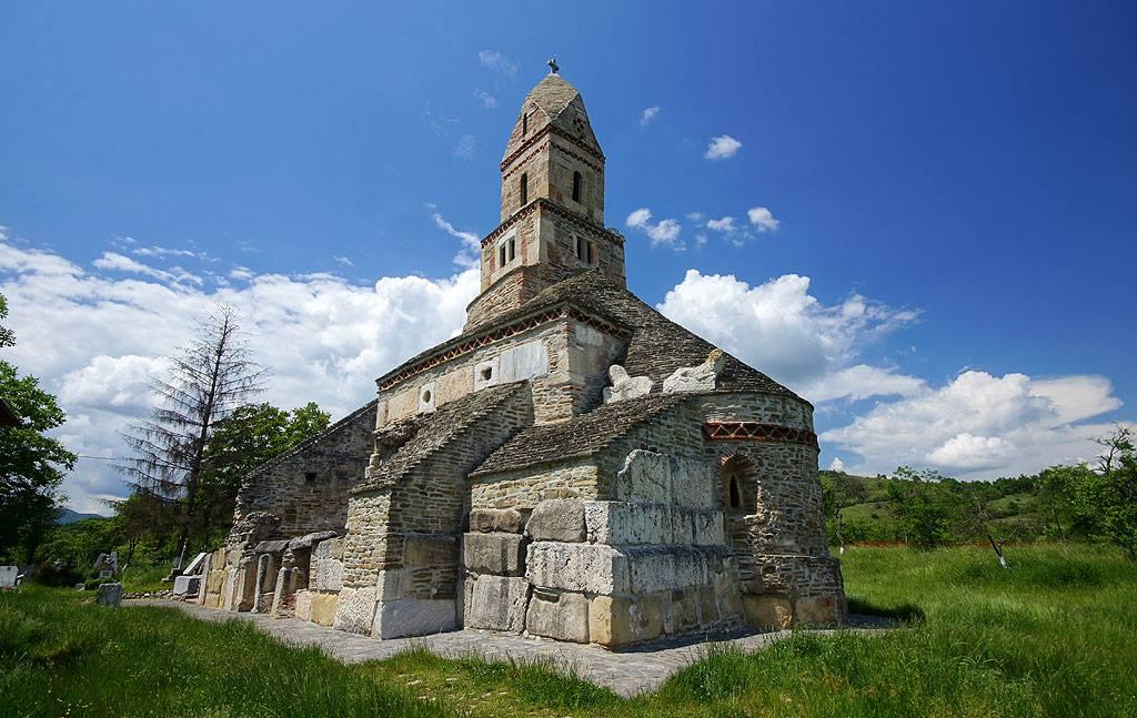 Karpaty Rumuńskie: Densuş cerkiew pw. św. Mikołaja