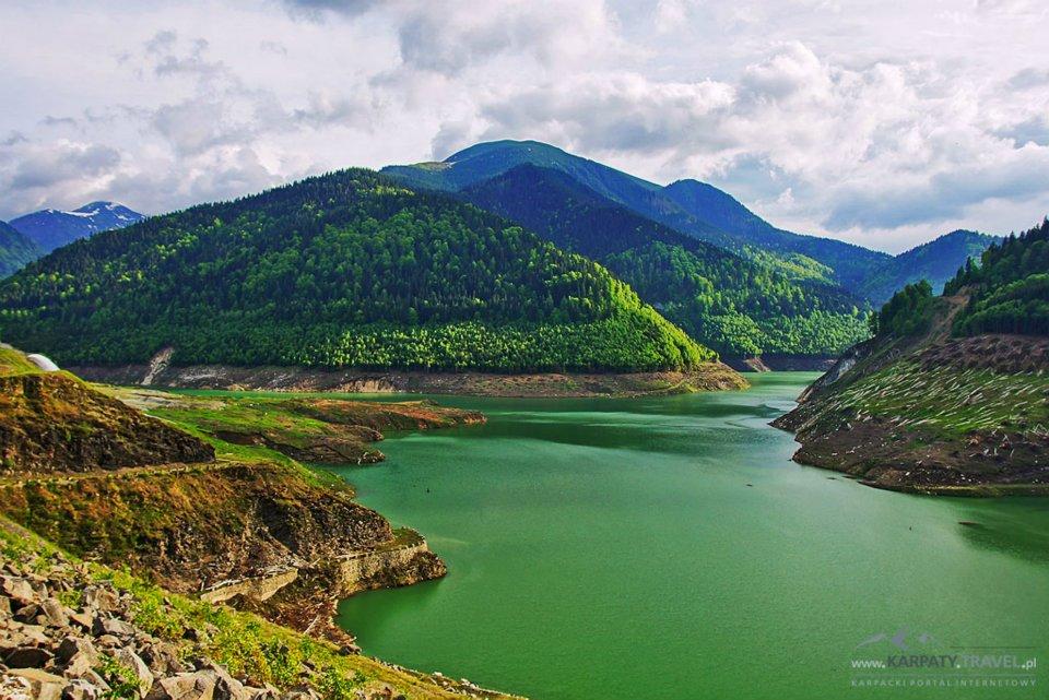 Karpaty Rumuńskie: Jezioro Gura Apelor