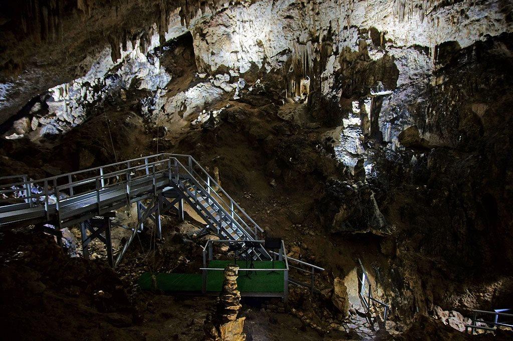 Karpaty Rumuńskie: Peștera Valea Cetății (Fundata) Góry Postăvaru