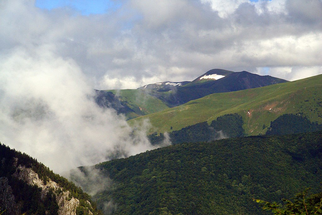 Karpaty Rumuńskie: Góry Godeanu (Munţii Godeanu)
