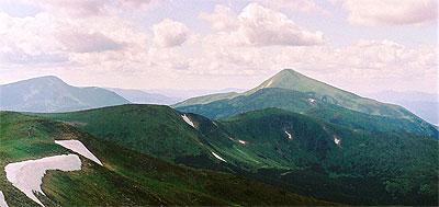 Karpaty Ukraińskie: Czarnohora (Чорногора)