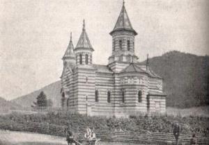 Cerkiew rumuńska w Jakobenach. Fot. M. Affanasowicz (z wyc. A.K.T.).