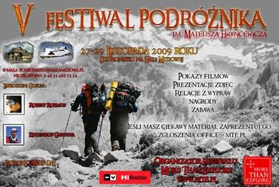 Festiwal Podróżnika im. Mateusza Hryncewicza