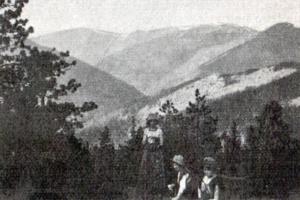 Gorgany: Popadia (1743 m.).Fot. M. Affanasowicz (z wyc. A.K.T.).