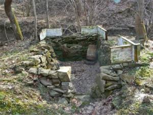 foto. M.Organ - Jedno z dawnych domostw w Choceniu