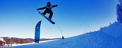 Nowy snowpark w Beskidzie Niskim