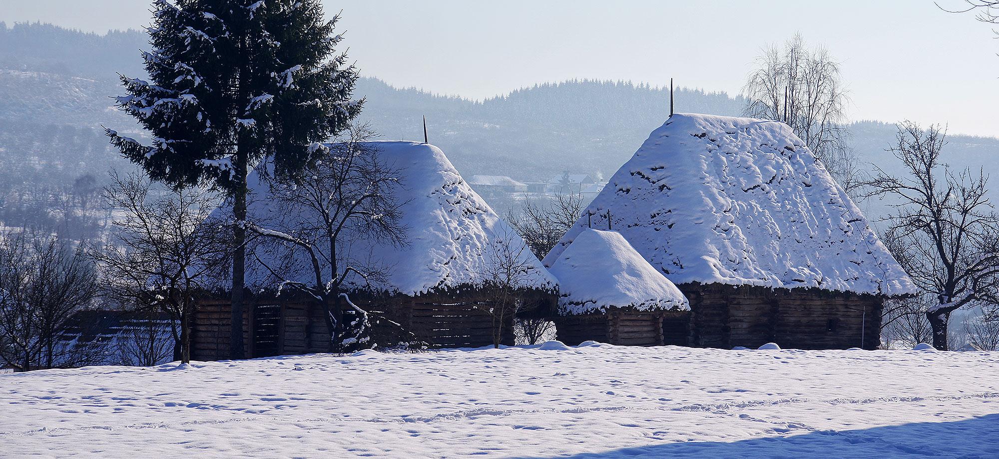 Skansen w Syhocie Marmaroskim – Karpaty Rumuńskie