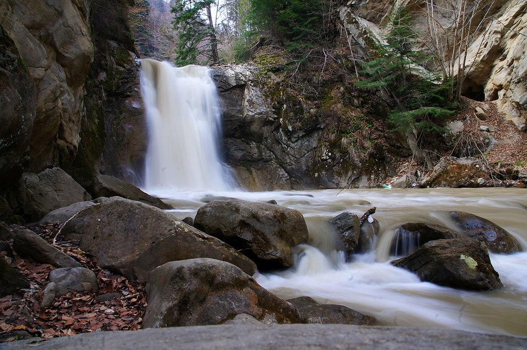 Karpaty Rumuńskie: Wodospad Cașoca (Pruncea) – Góry Buzău