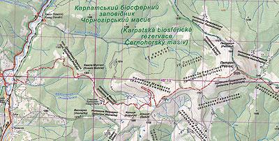 Nowa mapa Czarnohory już wkrótce w sprzedaży
