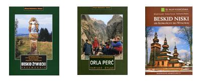 Beskid Żywiecki, Orla Perć i Beskid Niski – nowe wydania popularnych przewodników