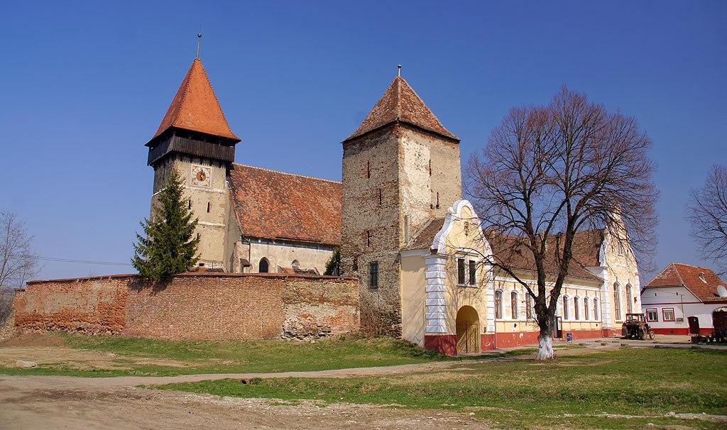 Kościół Warowny w Brateiu – Transylwania