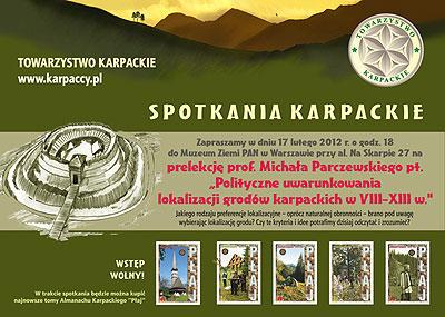 Polityczne uwarunkowania lokalizacji grodów karpackich w VIII-XIII