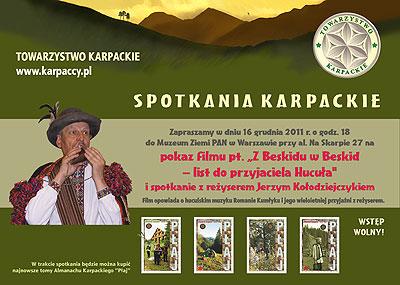 Spotkanie Karpackie 16 grudnia 2011
