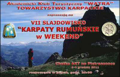KARPATY RUMUŃSKIE w WEEKEND – Program